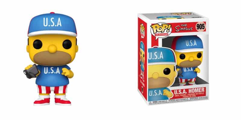 Funko Homer USA Simpson