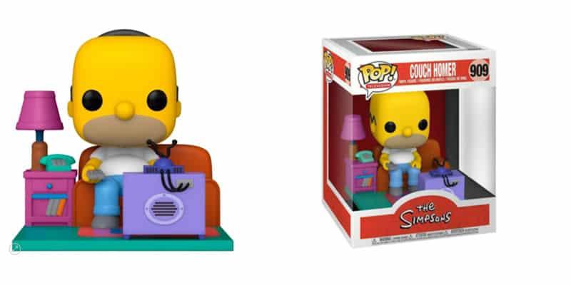 Funko Simpson Homer TV