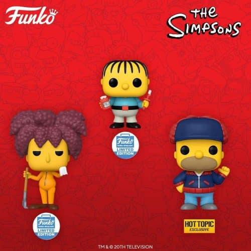 Funko Pop Edición Limitada Simpson
