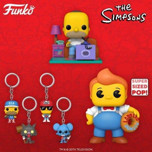 Funko Simpson Super Size y Deluxe