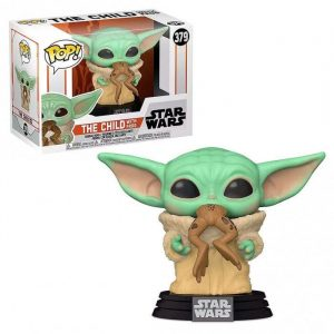 Baby Yoda con Rana