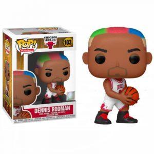 Funko POP Dennis Rodman Bulls NBA 103 - El Friki Today