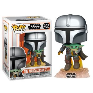 Funko Pop Star Wars The Mandalorian Baby Yoda 402 | El Friki Today